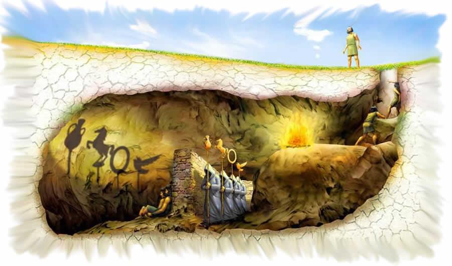 il mito della caveran di Platone