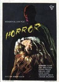 locandina di film horror