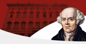 il senato italiano e Samuel Hahnemann in primo piano