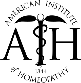 logo american institute of Homeopathy 1844