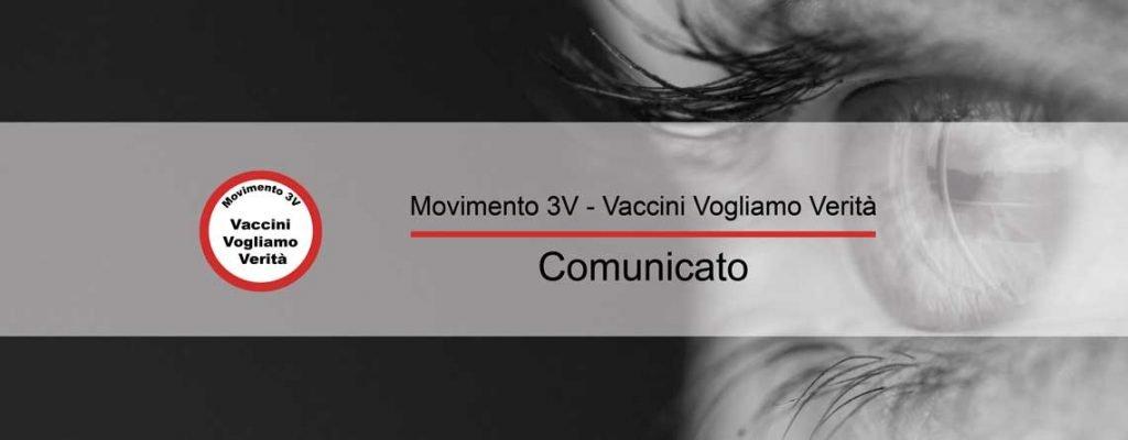 logo Vaccini Vogliamo Verità Movimento 3V