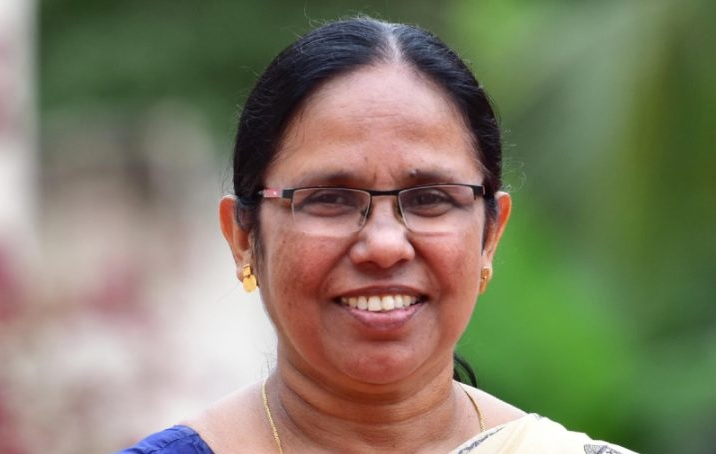 Shailaja ministro della sanità dello stato indiano del Kèrala